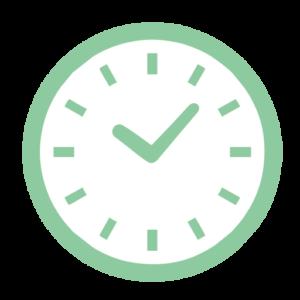時計(緑)