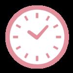 時計(赤)
